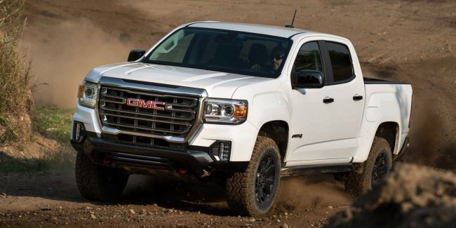 GMC Canyon AT4: на шаг ближе к оффроуду.