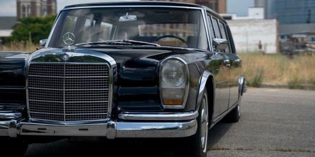 Пионеры оценят: коммунистический Mercedes 600 Pullman