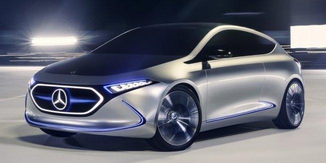 Mercedes EQA: премьера не за горами