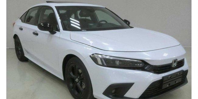 Honda Civic sedan: показана серийная версия