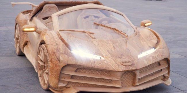 Молоток и рубанок: как создавалась Bugatti Centodieci (видео)