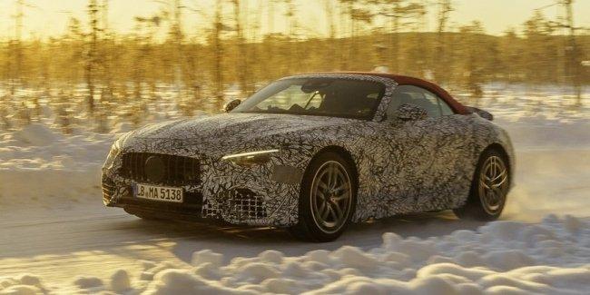 Новый SL AMG получит полный привод