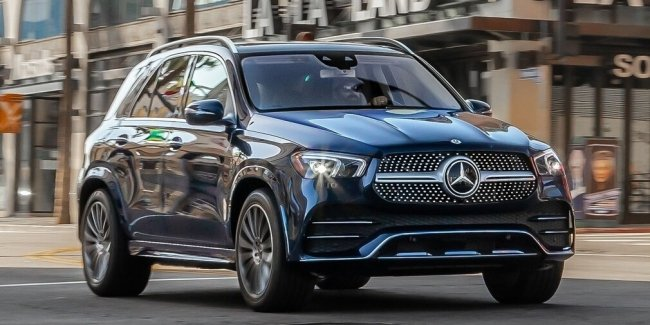 Mercedes-Benz GLE «допрыгался»