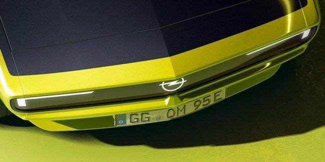 Opel показал свой новый электрокар из 70-х