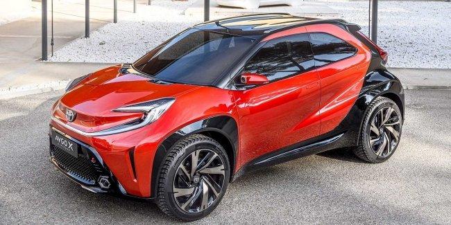 Toyota удвила новым Aygo