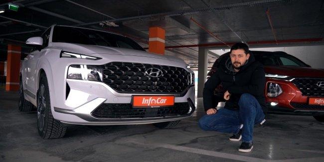 Hyundai Santa Fe 2021: это другой уровень!