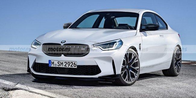 Новый M2 Coupe выехал на дороги