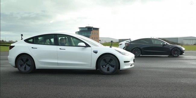 Tesla Model 3 против Tesla Model 3 против Tesla Model 3