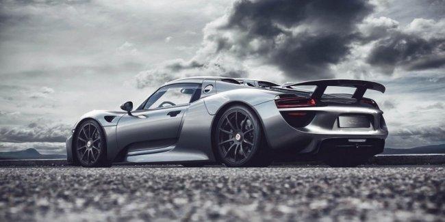 Гиперкар Porsche: еще пару лет