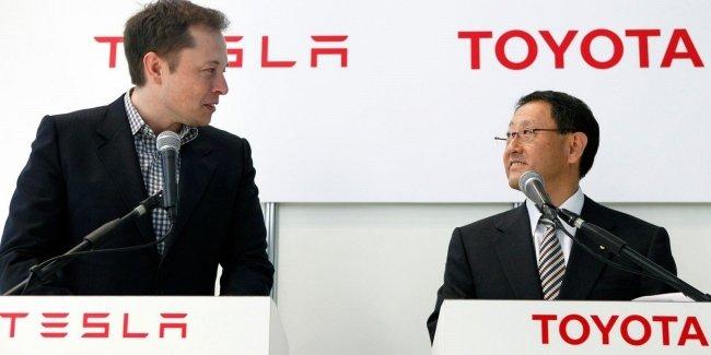 Tesla и Toyota ведут переговоры о партнёрстве