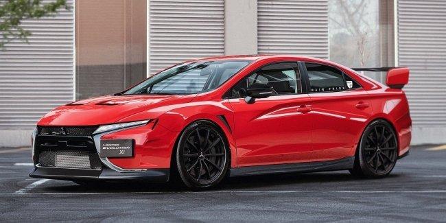 Представлен приемник Mitsubishi Lancer Evo