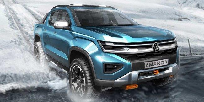 VW рассказал, когда покажет новые Transporter и Amarok