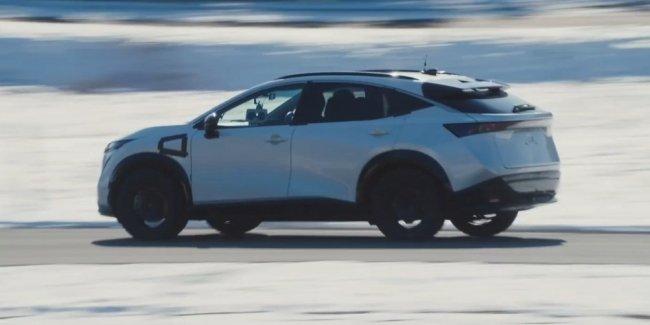 Каким испытаниям подвергся Nissan Ariya