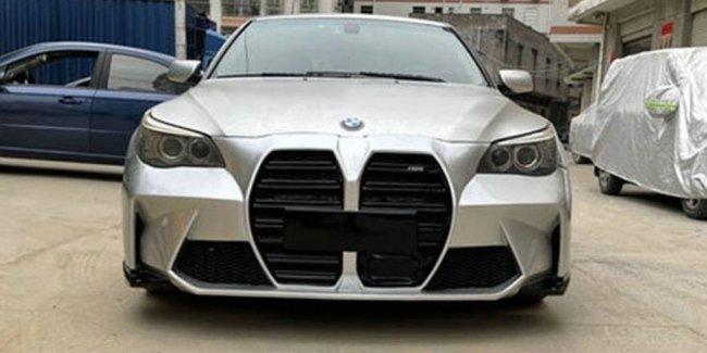Будь в тренде: обвес для BMW E60 с огромными «ноздрями»