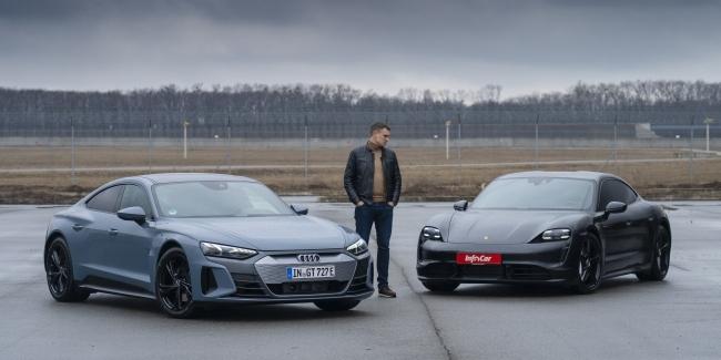 Audi e-tron GT: зачем нужен Taycan?!