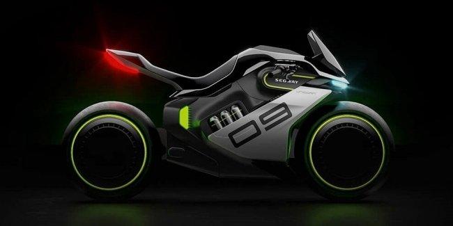 Водородный мотоцикл Segway Apex H2: «патроны» вместо заправки