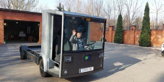 В Украине протестировали первого «конкурента» Tesla Semi (видео)