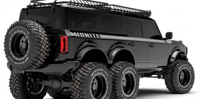 Фирма Maxlider построит шестиколёсный Ford Bronco