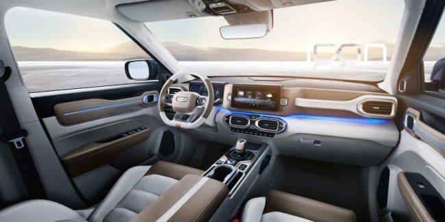 Голограмма для Geely: как автомобиль будет веселить владельца?