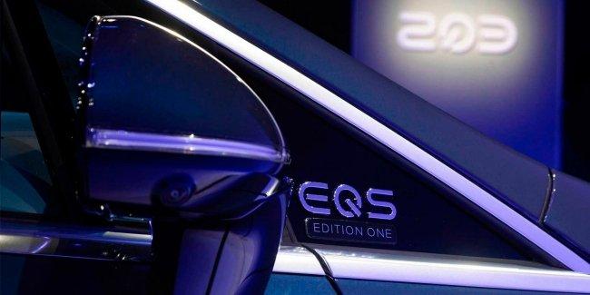 Почему на EQS нет боковых камер?