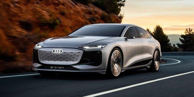 Новый электрокар Audi A6 e-tron слили перед премьерой