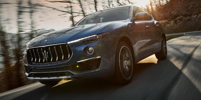 Удар тока: Maserati представила гибридный Levante