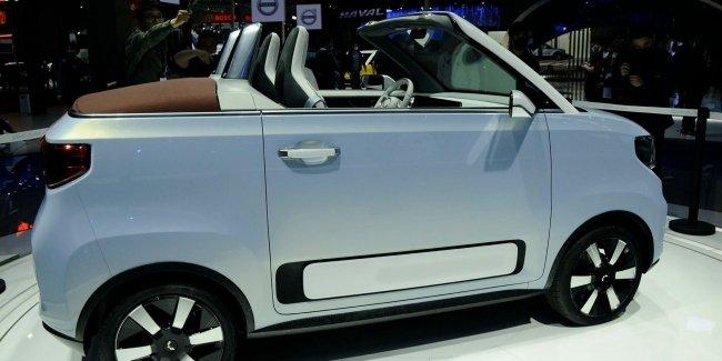 Самый популярный электрокар превратили в кабриолет