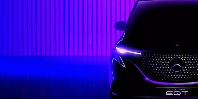 EQT - первый электрический компактвэн Mercedes