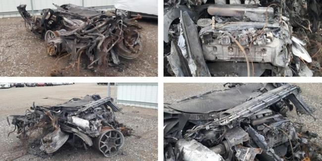Редкий «биток»: остатки Ford GT продают на аукционе