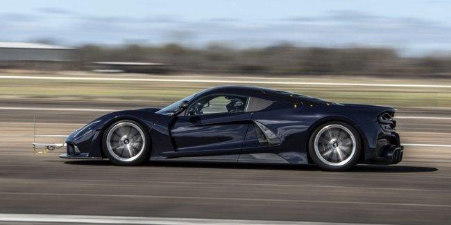 Самый быстрый в мире? Видео с испытаний Venom F5