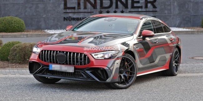 AMG GT 73e: самый мощный в истории Mercedes