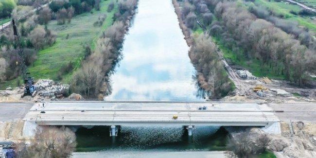 Укравтодор показал мост, возведенный за 5 месяцев на автодороге Н-31 (фото)