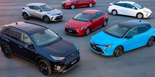 Toyota побила рекорд по продажам