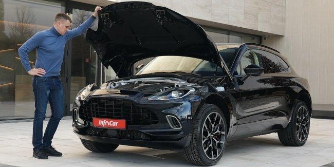 Кроссовер DBX - спасательный круг Aston Martin?