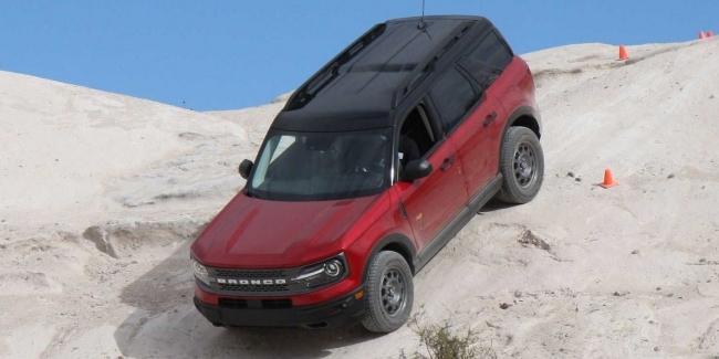 Ford Bronco Sport покоряет «врата ада»