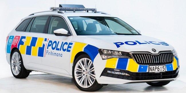 Skoda Superb стал официальным полицейским автомобилем