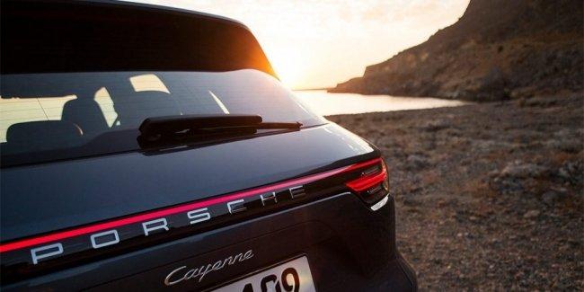 В Porsche показали дизайн нового Cayenne