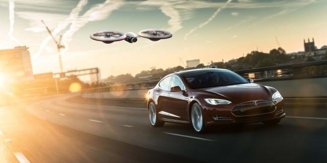 Tesla Model 3 взломали при помощи дрона и Wi-Fi (видео)