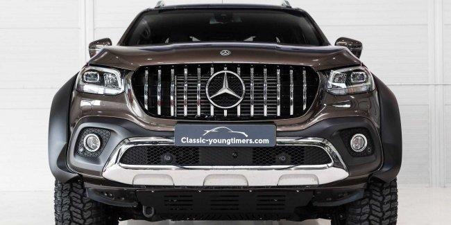 Чудо чудное: шестиколесный пикап Mercedes-Benz X-Class
