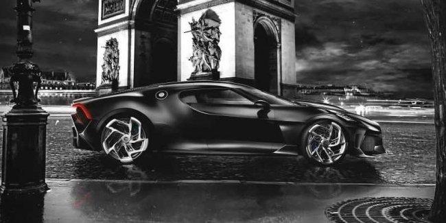 Самый дорогой Bugatti представят через 2 недели