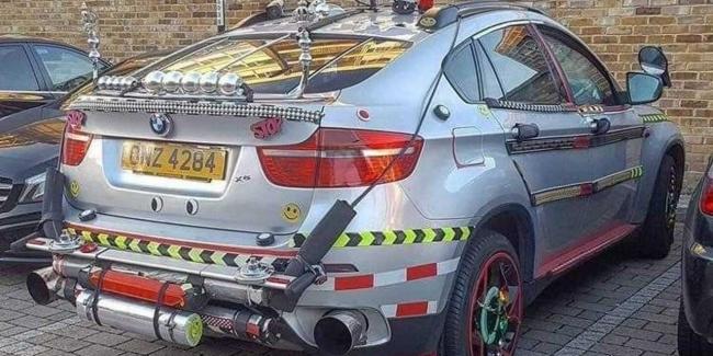 BMW X6 который вы не видели