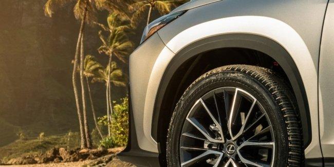 Lexus NX второго поколения: новое фото