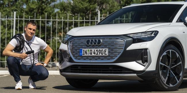 По барабану: знакомимся с Audi Q4 e-tron в Украине
