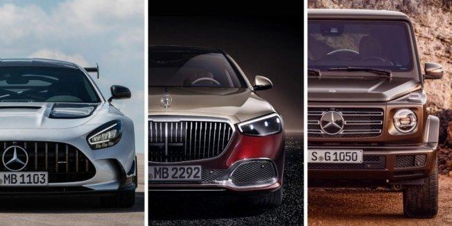 Mercedes объединит AMG, Maybach и G-Class в один лакшери-куст
