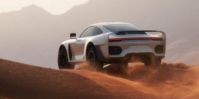 На Porsche 911 Turbo S за $583.000, да по барханам