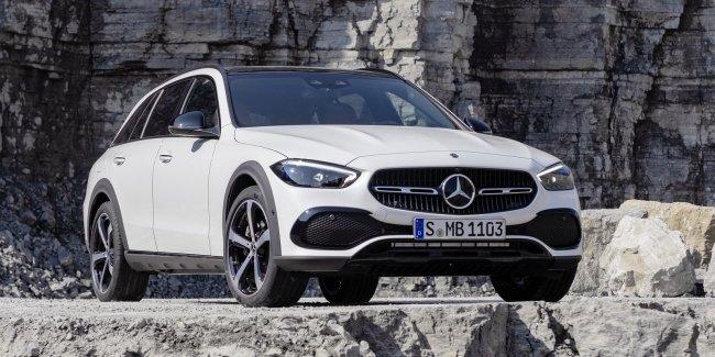 Mercedes-Benz C-класса впервые стал внедорожным универсалом