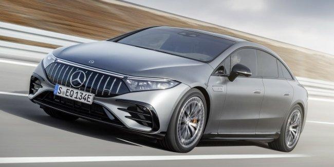 Рыба с зубами: Mercedes EQS получил AMG-версию