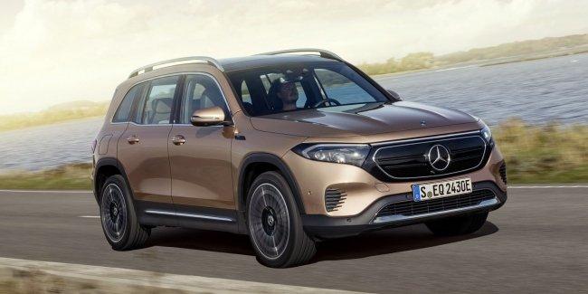 Mercedes EQB: полный привод и версия для Европы