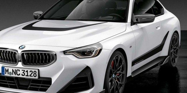 Новое купе BMW 2-Series в комплектен от M Performance