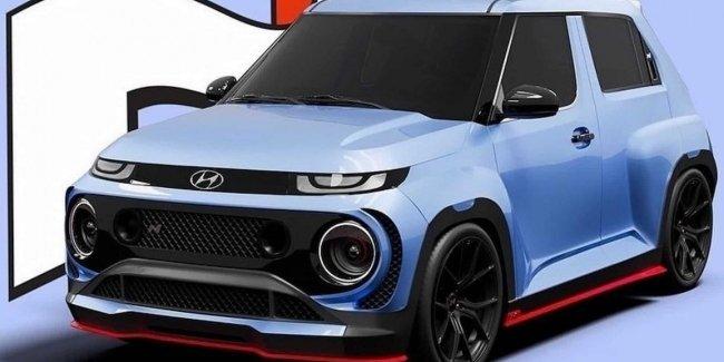 «Заряженный» Hyundai Casper N